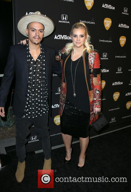 Evan Ross and Ashlee Simpson Ross 8