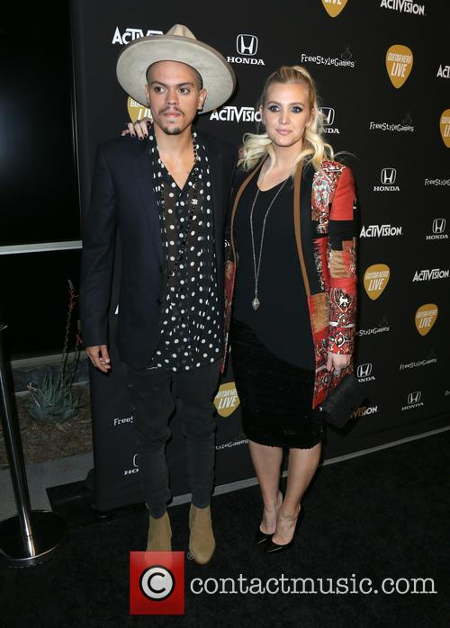 Evan Ross and Ashlee Simpson Ross 9