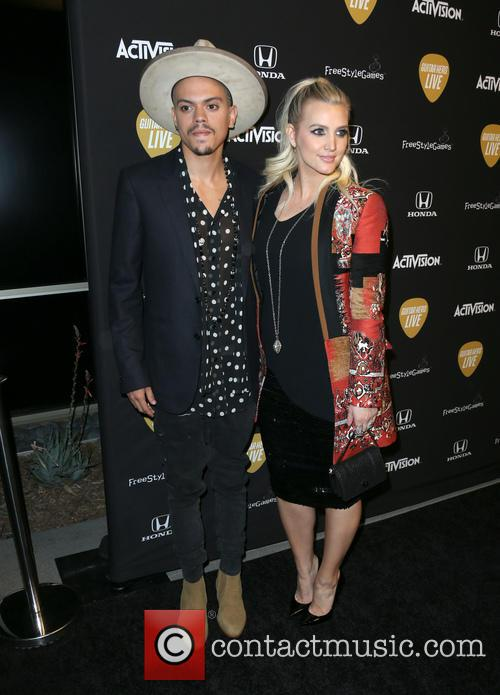 Evan Ross and Ashlee Simpson Ross 10
