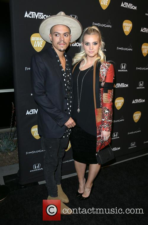 Evan Ross and Ashlee Simpson Ross 11