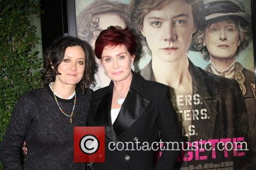 Sara Gilbert and Shaorn Osbourne 2