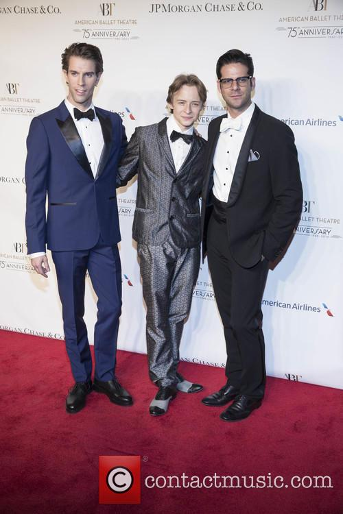 American Ballet Theatre, James Whiteside, Daniil Simkin and Marcelo Gomes 1