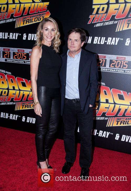 Amy Pollan and Michael J. Fox 2