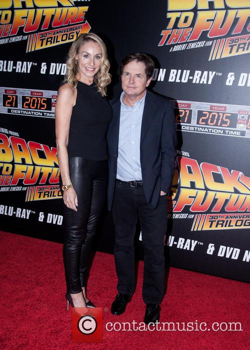 Amy Pollan and Michael J. Fox 3