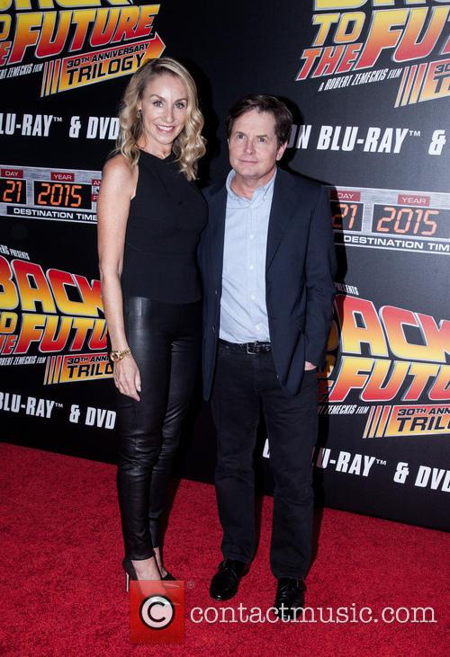 Amy Pollan and Michael J. Fox 4