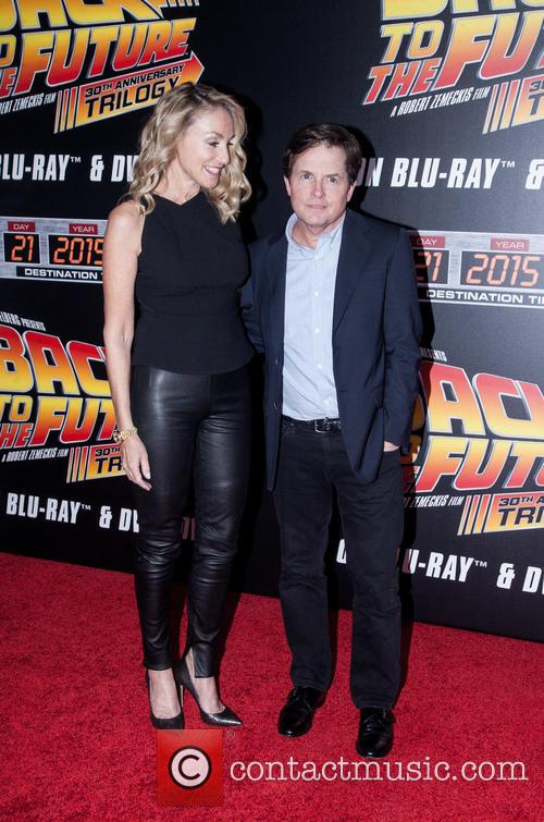 Amy Pollan and Michael J. Fox 5