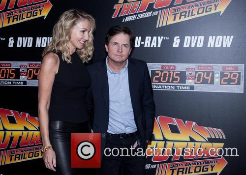 Amy Pollan and Michael J. Fox 6