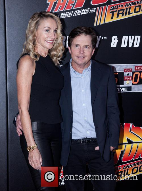 Amy Pollan and Michael J. Fox 1