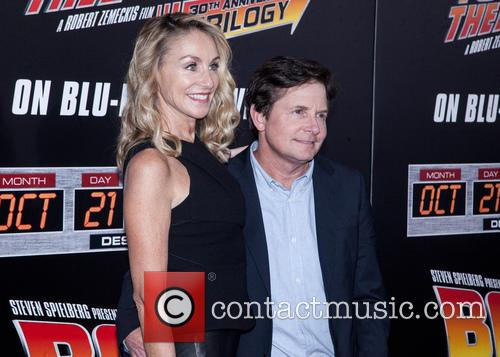 Amy Pollan and Michael J. Fox 8
