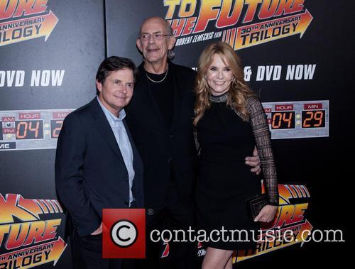Michael J. Fox, Christopher Lloyd and Lea Thompson 1