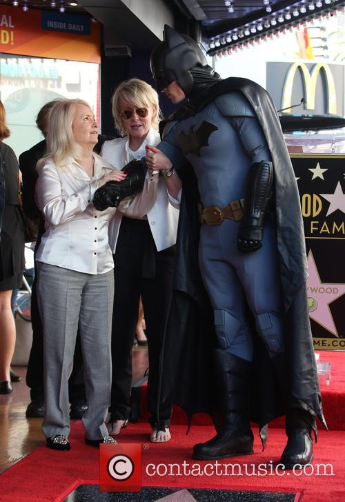 Elizabeth Sanders and Batman