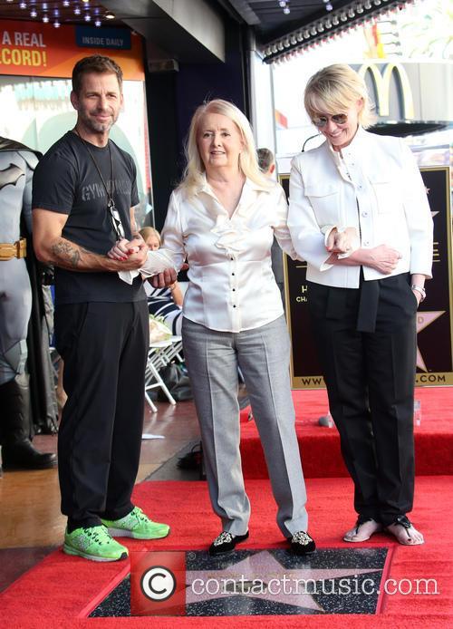Zack Snyder, Elizabeth Sanders and Guest 2