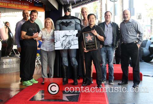 Zack Snyder, Elizabeth Sanders, Batman, Jim Lee and Guests 1