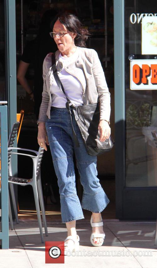 Katey Sagal out shopping in Beverly Hills