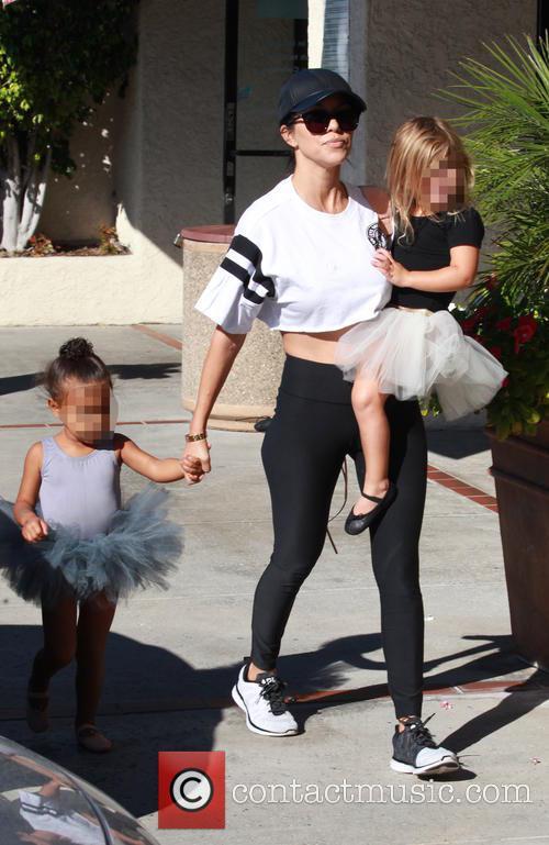 Kourtney Kardashian, North and Penelope 2
