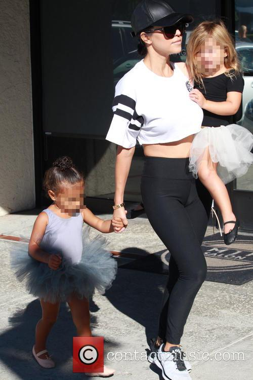 Kourtney Kardashian, North and Penelope 8