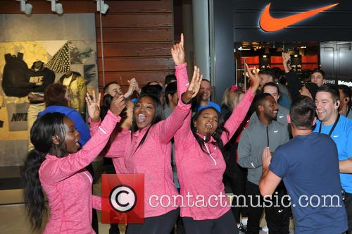 Atmosphere and Nike Staff 5