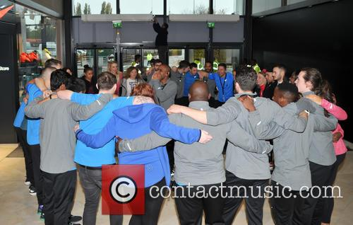 Atmosphere and Nike Staff 6