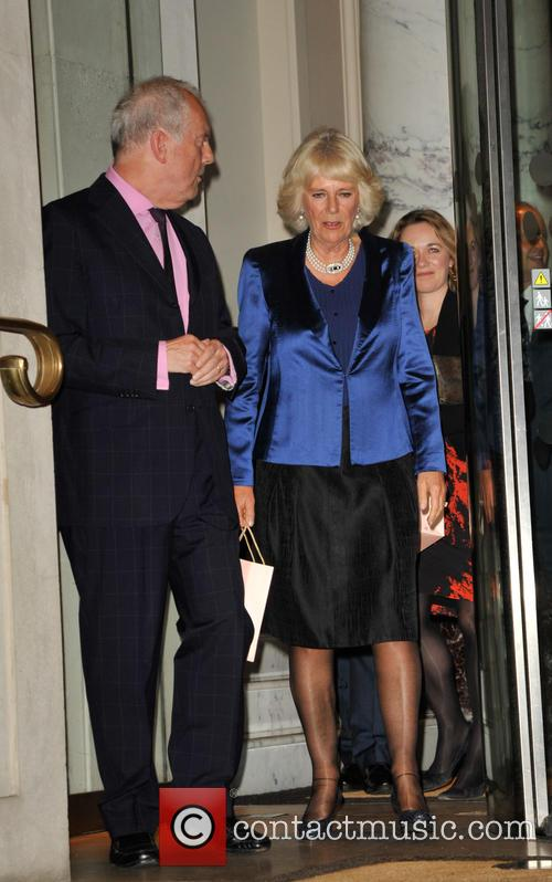 Duchess Of Cornwall and Gyles Brandreth 2
