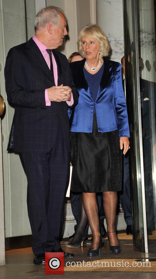 Duchess Of Cornwall and Gyles Brandreth 1