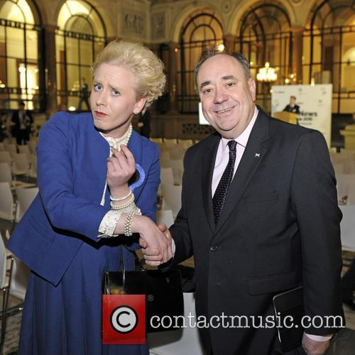 Alex Salmond, Maggie Thatcher Queen Of Soho and Pink 2