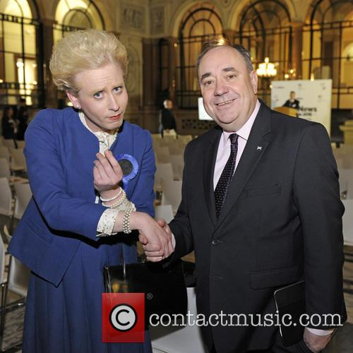Alex Salmond, Maggie Thatcher Queen Of Soho and Pink 3