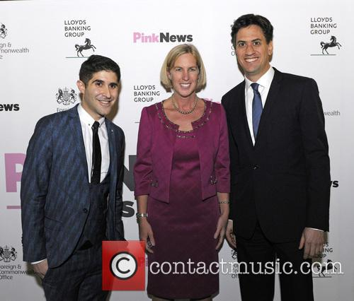 Pink, Ben Cohen, Karin Cook and Ed Milliband 1