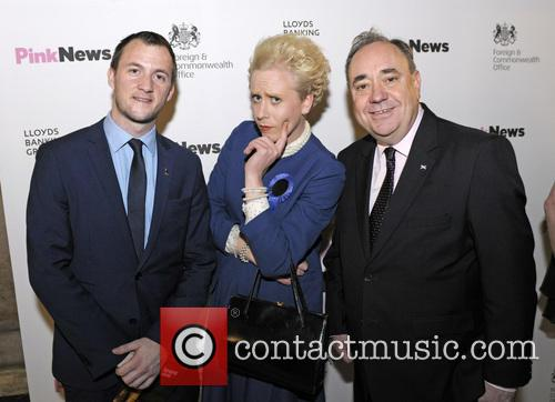 Alex Salmond, Maggie Thatcher Queen Of Soho and Pink 4