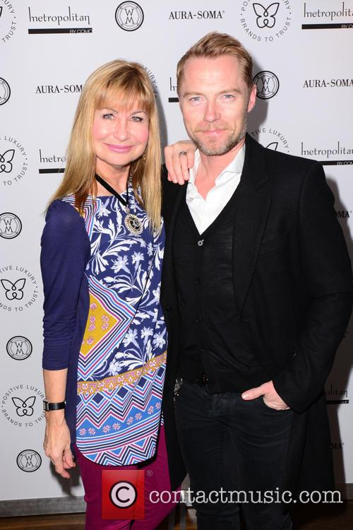 Sian Lloyd and Ronan Keating 2