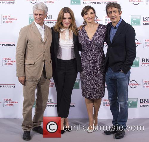 Fabrizio Bentivoglio, Isabella Regonese, Maria Pia Calzone and Sergio Rubino 1