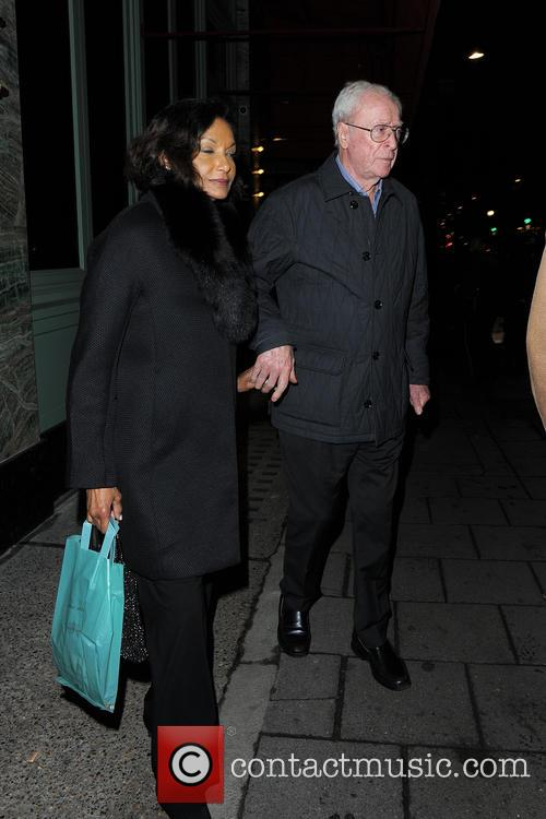 Michael Caine and Shakira Caine 3