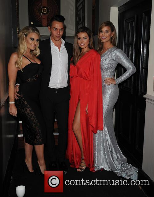 Danielle Armstrong, Bobby Norris, Jessica Wright and Fern Mccann 1