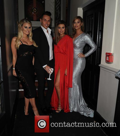 Jessica Wright, Danielle Armstrong, Bobby Norris and Fern Mccann 2