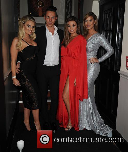 Jessica Wright, Danielle Armstrong, Bobby Norris and Fern Mccann 1