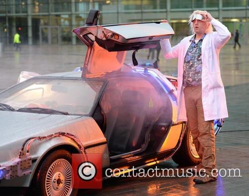 Delorean and The Doctor 9