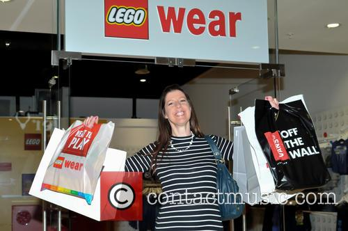 Nicola Troth (£1000 Winner As First Customer) Spend Some Of Her Winnings At Lego Wear 1