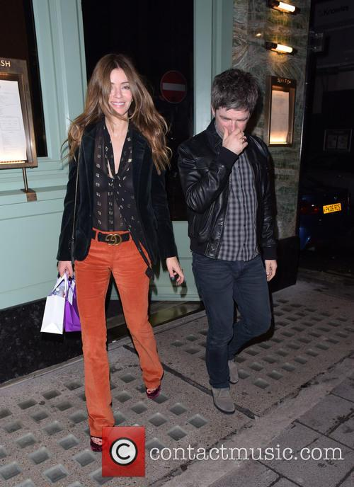 Noel Gallagher and Sara Macdonald 3