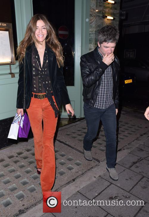 Noel Gallagher and Sara Macdonald 4