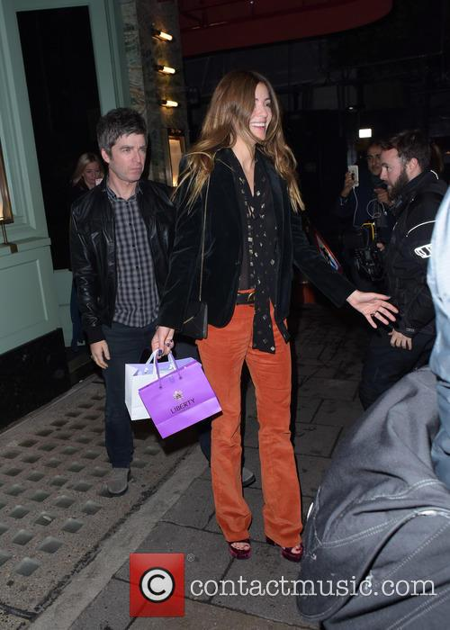 Noel Gallagher and Sara Macdonald 8