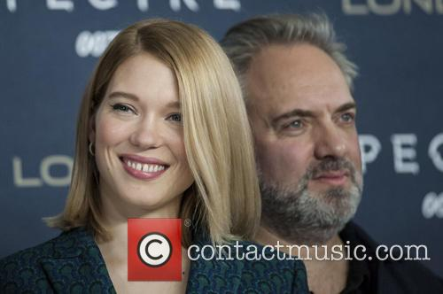 Lea Seydoux and Sam Mendes 1