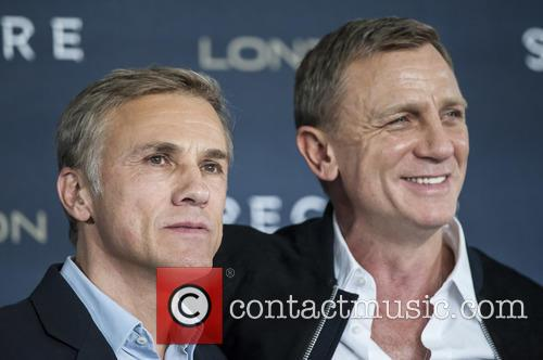 Christoph Waltz and Daniel Craig 2