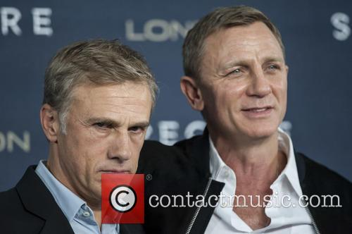 Christoph Waltz and Daniel Craig 3