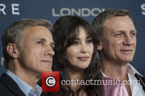 Christoph Waltz, Monica Bellucci and Daniel Craig 2