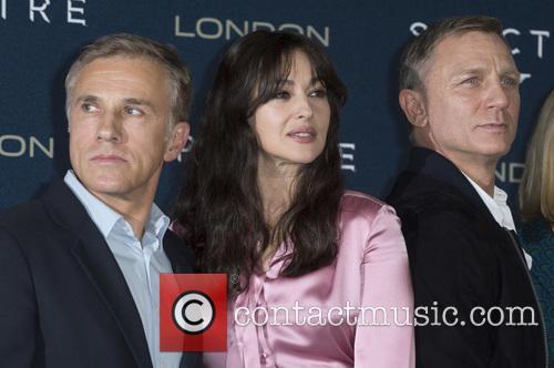 Christoph Waltz, Monica Bellucci and Daniel Craig 1
