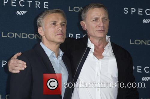Christoph Waltz and Daniel Craig 5