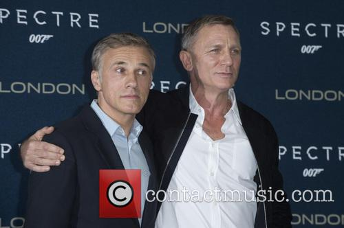 Christoph Waltz and Daniel Craig 1