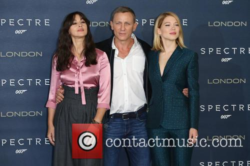 Monica Bellucci, Daniel Craig and Lea Seydoux 1