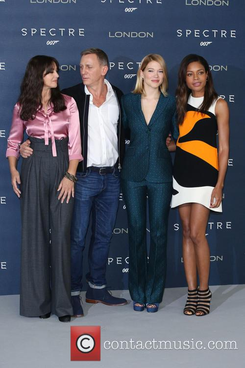 Monica Bellucci, Daniel Craig, Lea Seydoux and Naomie Harris 6