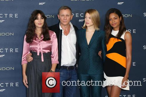 Monica Bellucci, Daniel Craig, Lea Seydoux and Naomie Harris 8