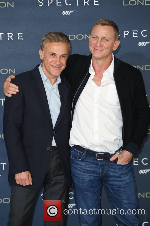 Christoph Waltz and Daniel Craig 4
